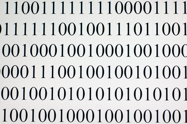 Software to read binary code